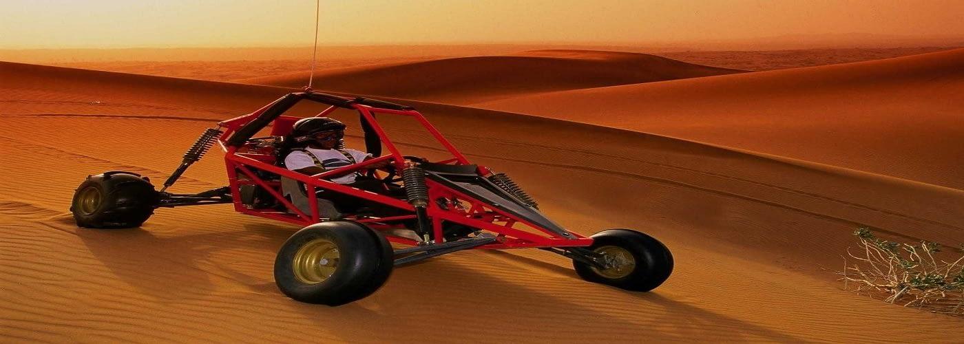 Desert Dune Buggy Riding