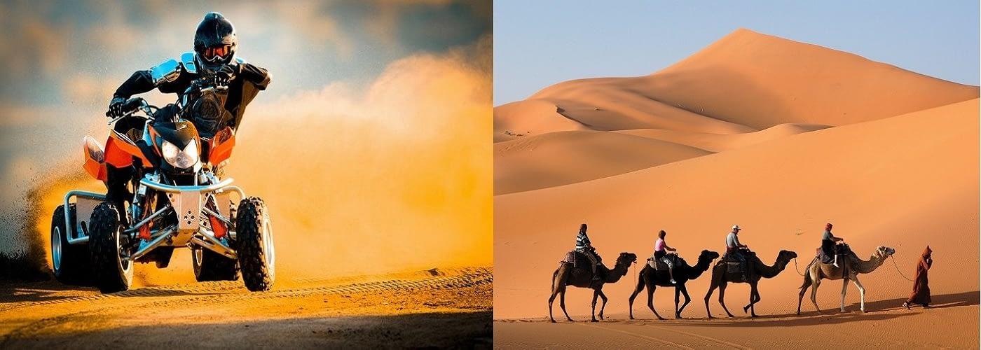Quad Biking and Camel Riding Tour