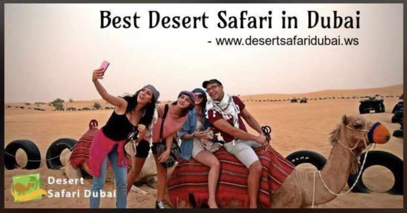 Dubai Desert Safari camel riding