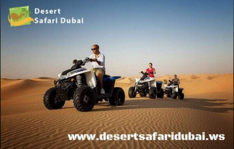 quad biking Desert Safari Dubai