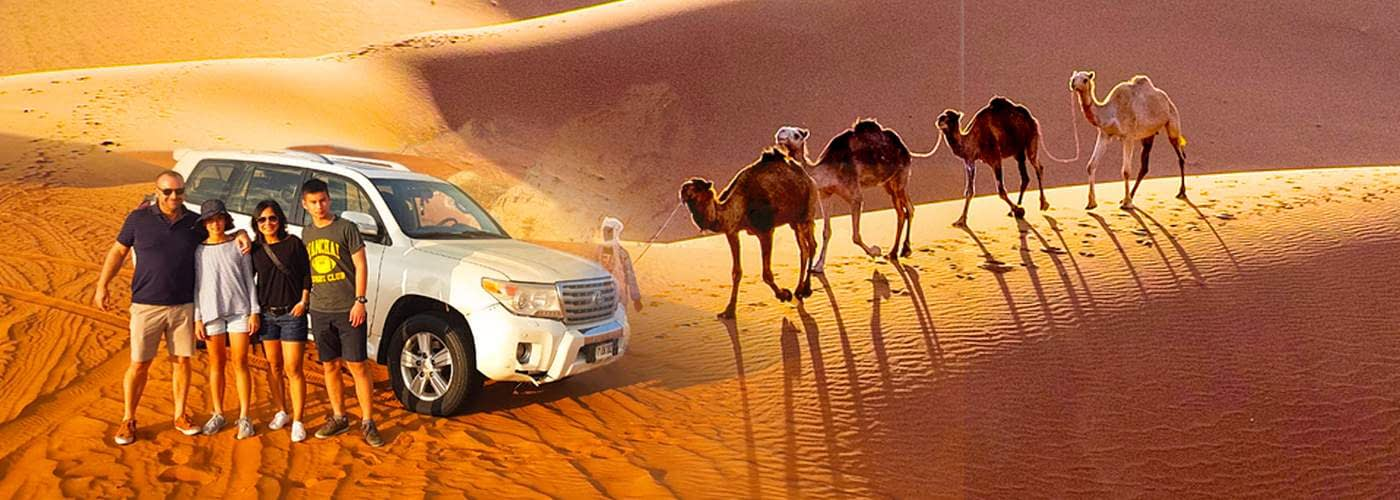 VIP Desert Safari in Dubai