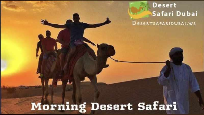 desert dubai safari with camel riding