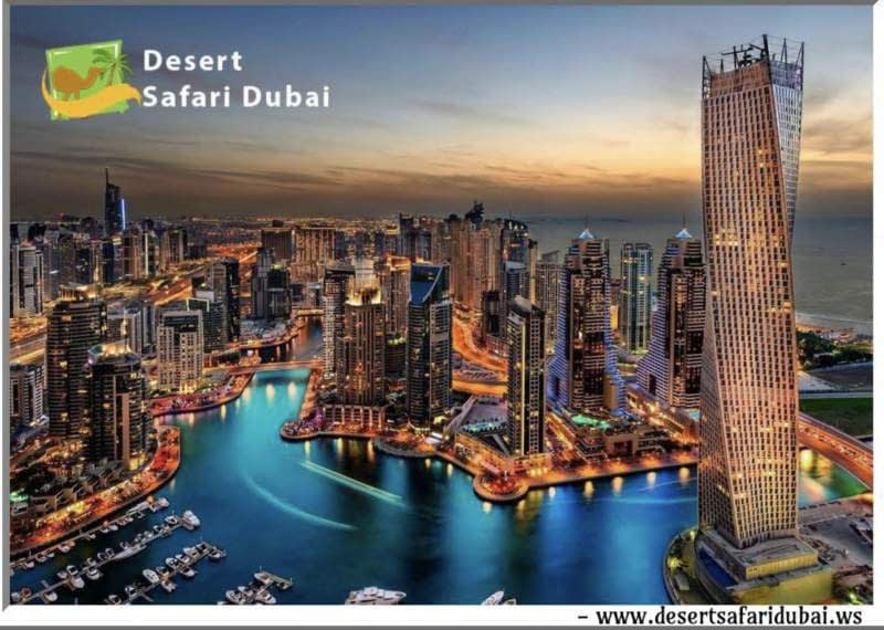Desert Safari Dubai City views