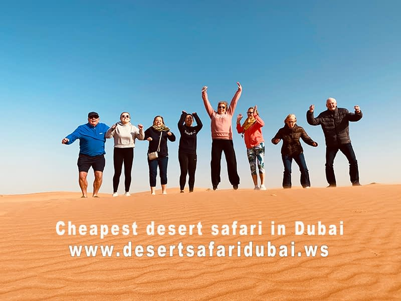 desert Safari Dubai cost per person